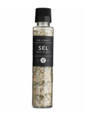 Lie Gourmet - Delikatesser - Lie Gourmet - Salt med basilikum, hvidløg og persille