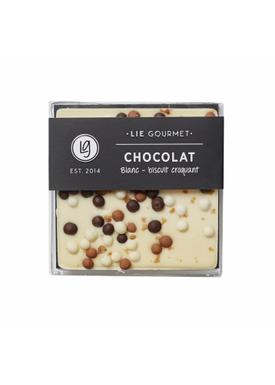 Lie Gourmet - Delikatesser - Lie Gourmet - Hvid chokoladebar med sprødt knas