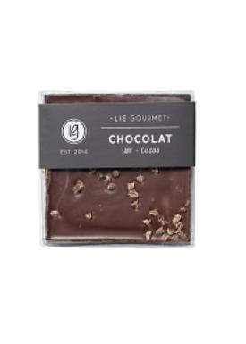 Lie Gourmet - Delikatesser - Lie Gourmet - Mørk chokoladebar med kakaokerner