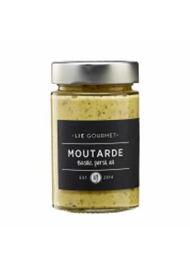 Lie Gourmet - Deli - Mustard - Basilikum, Persille og Hvidløg