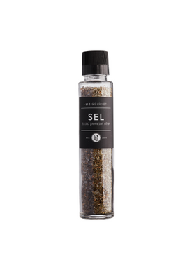 Lie Gourmet - Delikatesser - Spice in Grinder - Salt with parmesan, basil, lemon
