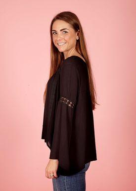 Lily Mcbee - Shirt - Bingo - Black
