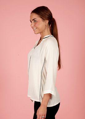 Lily Mcbee - Shirt - Braids - Cream