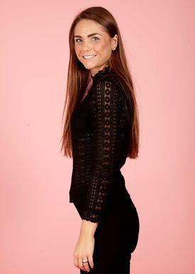 Lily Mcbee - Skjorte - Bree - Black