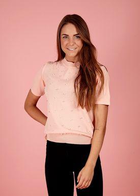 Lily Mcbee - T-shirt - Beauty - Salmon