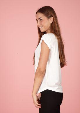 Lily Mcbee - T-shirt - Bliss - Flamingo