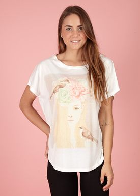 Lily Mcbee - T-shirt - Bliss - Blond girl
