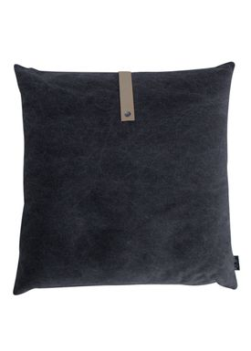 Louise Smærup - Cushion - Canvas - Black - 65 x 65