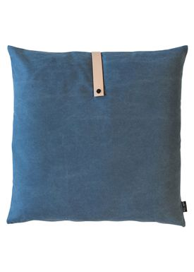 Louise Smærup - Cushion - Canvas - Blue - 65 x 65