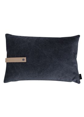 Louise Smærup - Cushion - Canvas - Black - 40 x 60