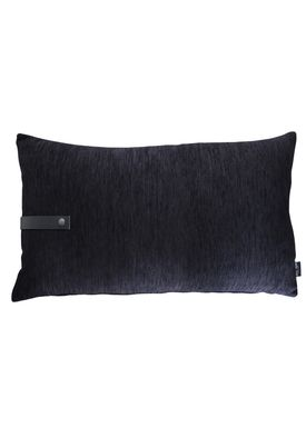 Louise Smærup - Pude - Regular / Twist - Black Regular - 80 x 50