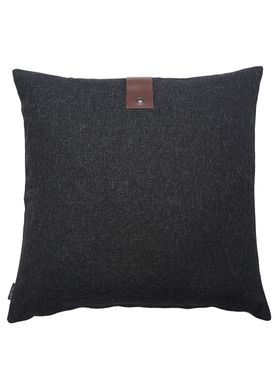 Louise Smærup - Cushion - Regular / Twist - Black Twist - 65 x 65