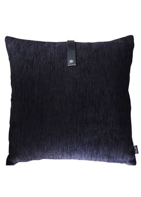Louise Smærup - Pude - Regular / Twist - Black Regular - 65 x 65