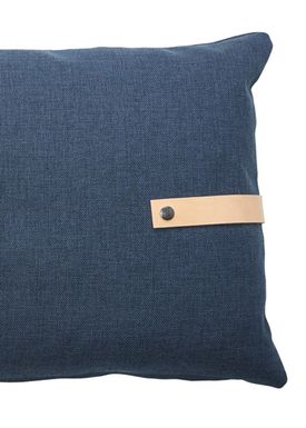 Louise Smærup - Cushion - Regular / Twist - Blue Twist - 80 x 50
