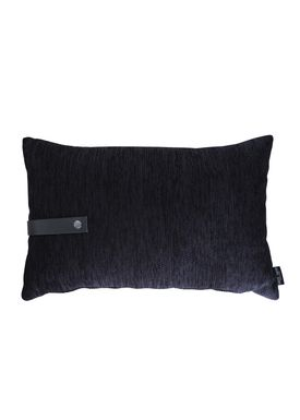Louise Smærup - Pude - Regular / Twist - Black Regular - 60 x 40