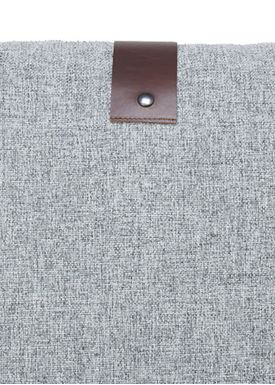 Louise Smærup - Pude - Regular / Twist - Grey Twist - 65 x 65