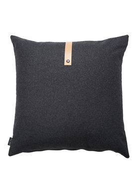 Louise Smærup - Pude - Uld - Dark Grey Wool - 65 x 65