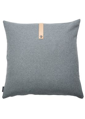 Louise Smærup - Pude - Uld - Light Grey Wool - 65 x 65