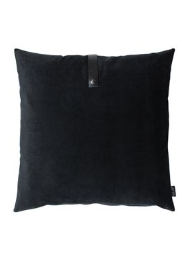 Louise Smærup - Cushion - Velourpude  - Black - 65 x 65