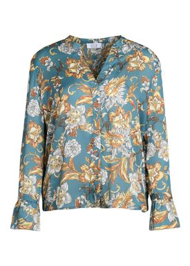 Love&Divine - Shirt - Love88-3 - Flower Aqua