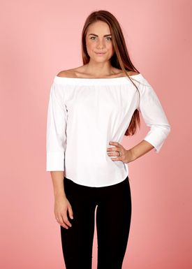 LUC&CE - Top - Baby - White