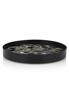 Lucie Kaas - Tray - ERAT Trays - Black - Large