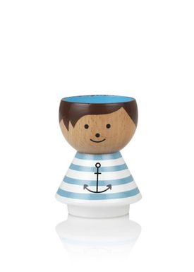 Lucie Kaas - Figure - Bordfolk Boy Egg Cups - Sailor