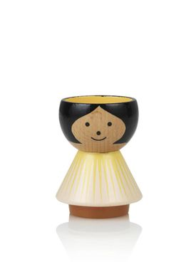 Lucie Kaas - Figure - Bordfolk Girl Egg Cup - Sunrise
