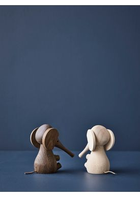 Lucie Kaas - Figure - Gunnar Flørning Collection - Elephant Rubber Wood