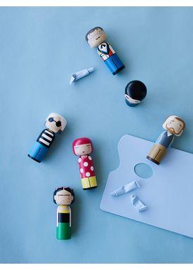 Lucie Kaas - Figure - Sketch.inc Kokeshi dolls - Vincent