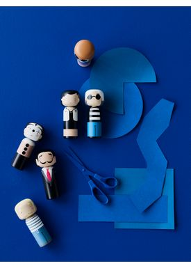 Lucie Kaas - Figure - Sketch.inc Kokeshi dolls - Salvador