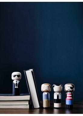 Lucie Kaas - Figure - Sketch.inc Kokeshi dolls - Andy