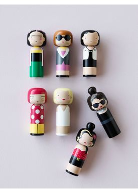 Lucie Kaas - Figure - Sketch.inc Kokeshi dolls - Clown