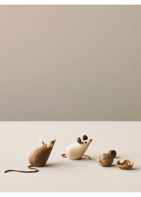 Lucie Kaas - Figure - Skjøde Collection - Mice (Set of 2)