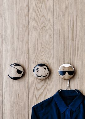 Lucie Kaas - Hooks - Sketch.inc Wall Hooks - Pirate