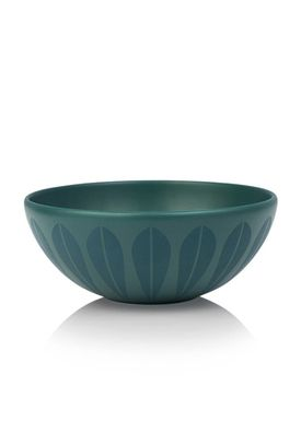 Lucie Kaas - Skål - Lotus Bowl - Large - Petroleum Blue