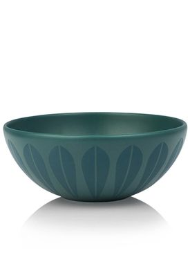 Lucie Kaas - Skål - Lotus Bowl - Extra Large - Petroleum Blue