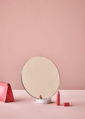 Lucie Kaas - Spegel - Erat Mirrors - White