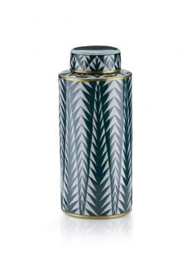 Lucie Kaas - Vase - Matee Canisters - Large - Green pines