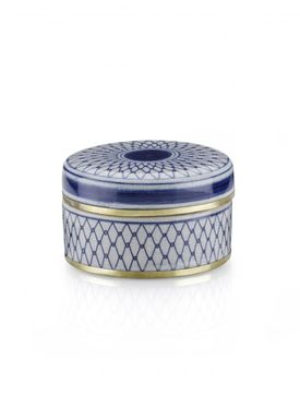 Lucie Kaas - Vase - Matee Canisters - Small - Blue net