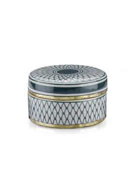 Lucie Kaas - Vase - Matee Canisters - Small - Green net