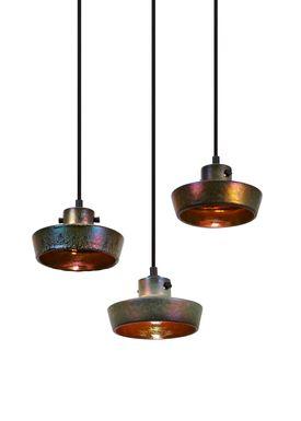 Tom Dixon - Lampe - Lustre Flat Pendant - Rust