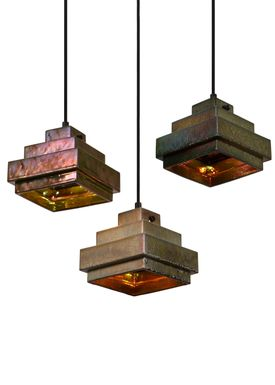 Tom Dixon - Lampe - Lustre Square Pendant - Rust