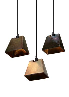 Tom Dixon - Lampe - Lustre Wedge Pendant - Rust