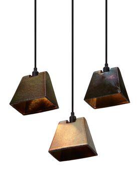 Tom Dixon - Lampe - Lustre Wedge Pendant - Rust