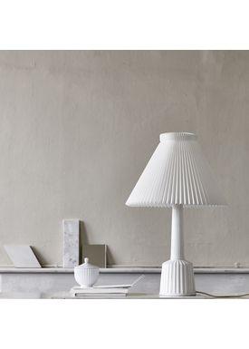 Lyngby Porcelæn - Lampe - Esben Klint Lampe - Hvid