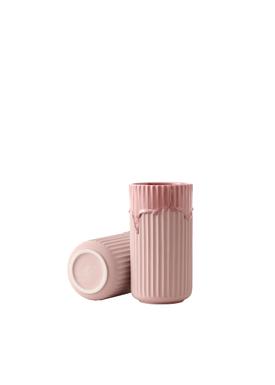 Lyngby Porcelæn - Vase - Lyngby vase - Rose Running Glaze - 20 cm