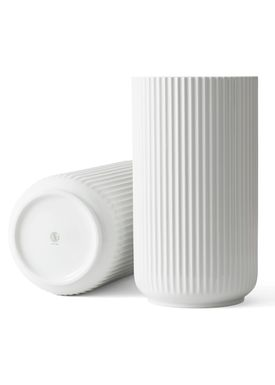 Lyngby Porcelæn - Vase - Lyngbyvasen - Hvid - 38 cm
