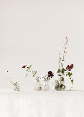 Lyngby Porcelæn - Vase - Lyngbyvasen - Glas - klar - 25 cm