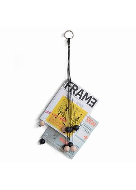 By Wirth - Magazine Holder - Magazin Hang Out - Black